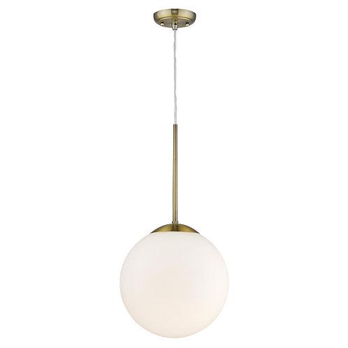 Solea 2-Light Antique Brass Pendant