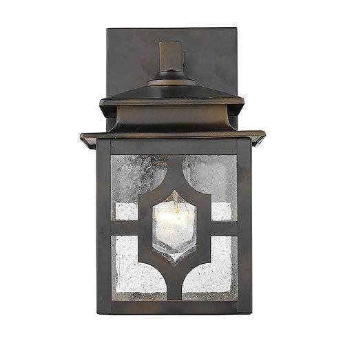 Calvert 1-Light Oil-Rubbed Bronze Wall Light