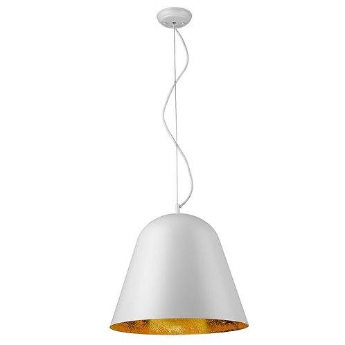 Knell 1-Light White Pendant