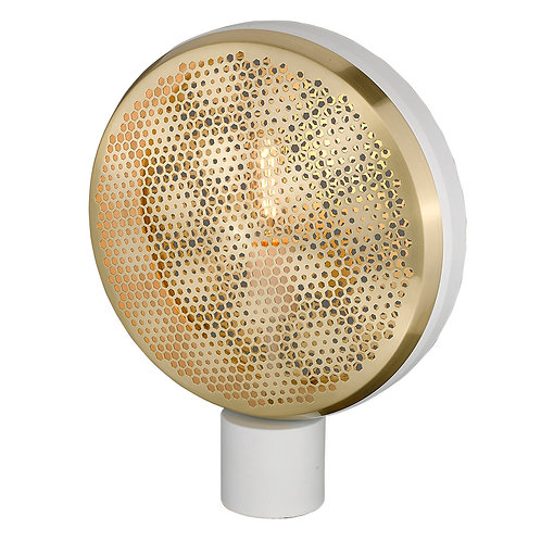 Tholos 1-Light White Table Lamp