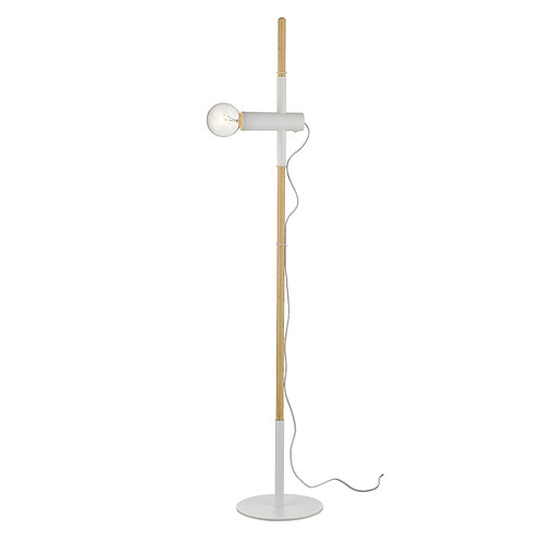Hilyte 1-Light White Floor Lamp