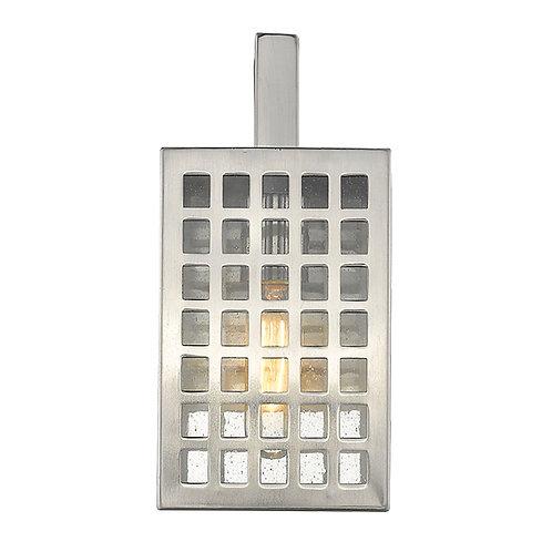 Letzel 1-Light Satin Nickel Wall Light