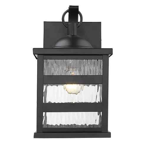 Morris 1-Light Matte Black Wall Light