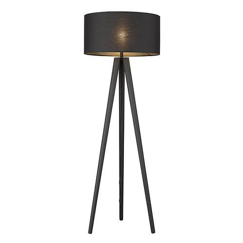 Tourer 1-Light Matte Black Floor Lamp