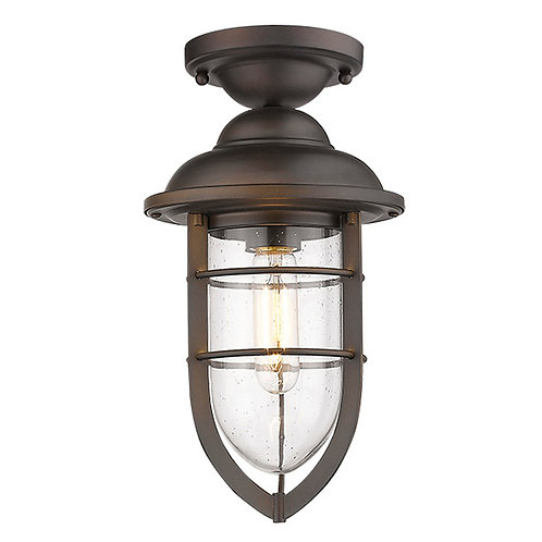 Dylan 3-Light Oil-Rubbed Bronze Hanging Lantern