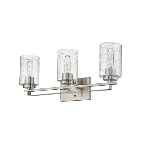 Orella 3-Light Satin Nickel Vanity