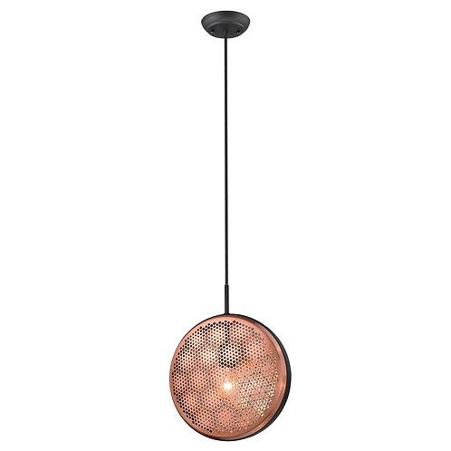 Tholos 1-Light Matte Black Pendant
