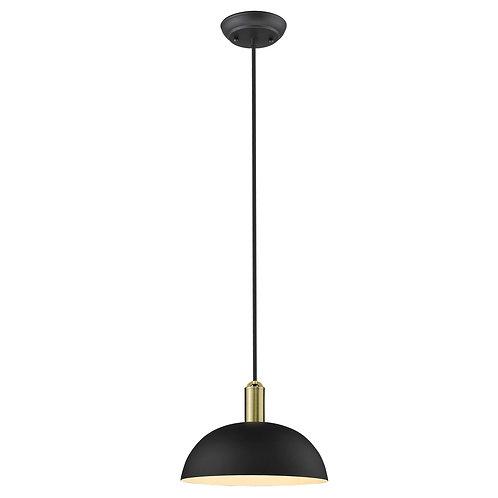 Ingo 1-Light Matte Black Pendant