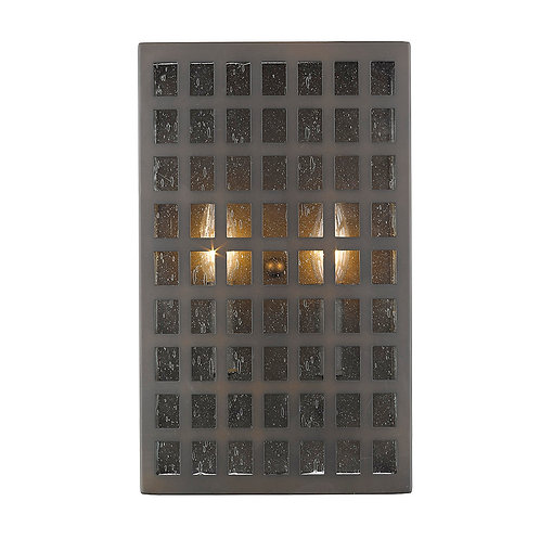 Letzel 2-Light Oil-Rubbed Bronze ADA Wall Sconce
