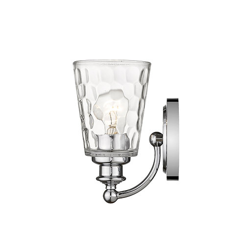 Mae 1-Light Chrome Sconce