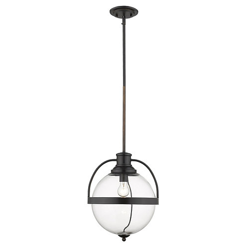 Kassian 1-Light Oil-Rubbed Bronze Pendant