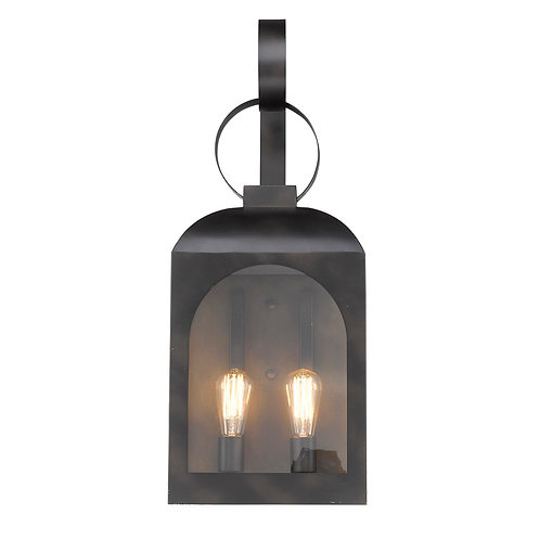 Madigan 2-Light Oil-Rubbed Bronze Wall Light