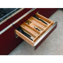 """Trimmable Wood Utility Tray 24"""" to 12"""""""