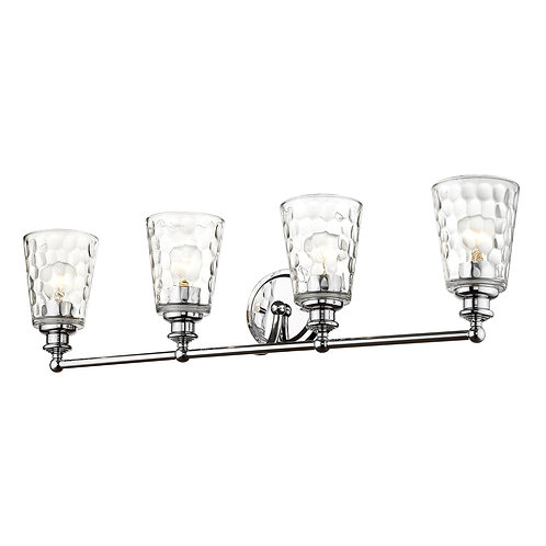 Mae 4-Light Chrome Vanity