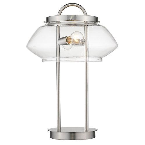 Garner 2-Light Satin Nickel Table Lamp