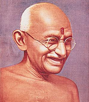 """""""Soyez le changement que vous voulez voir dans le monde"""", Gandhi."""