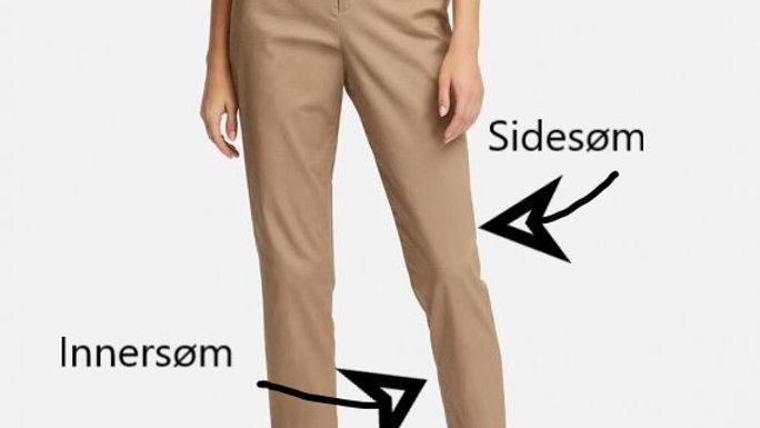 justering av bukser/fiksing