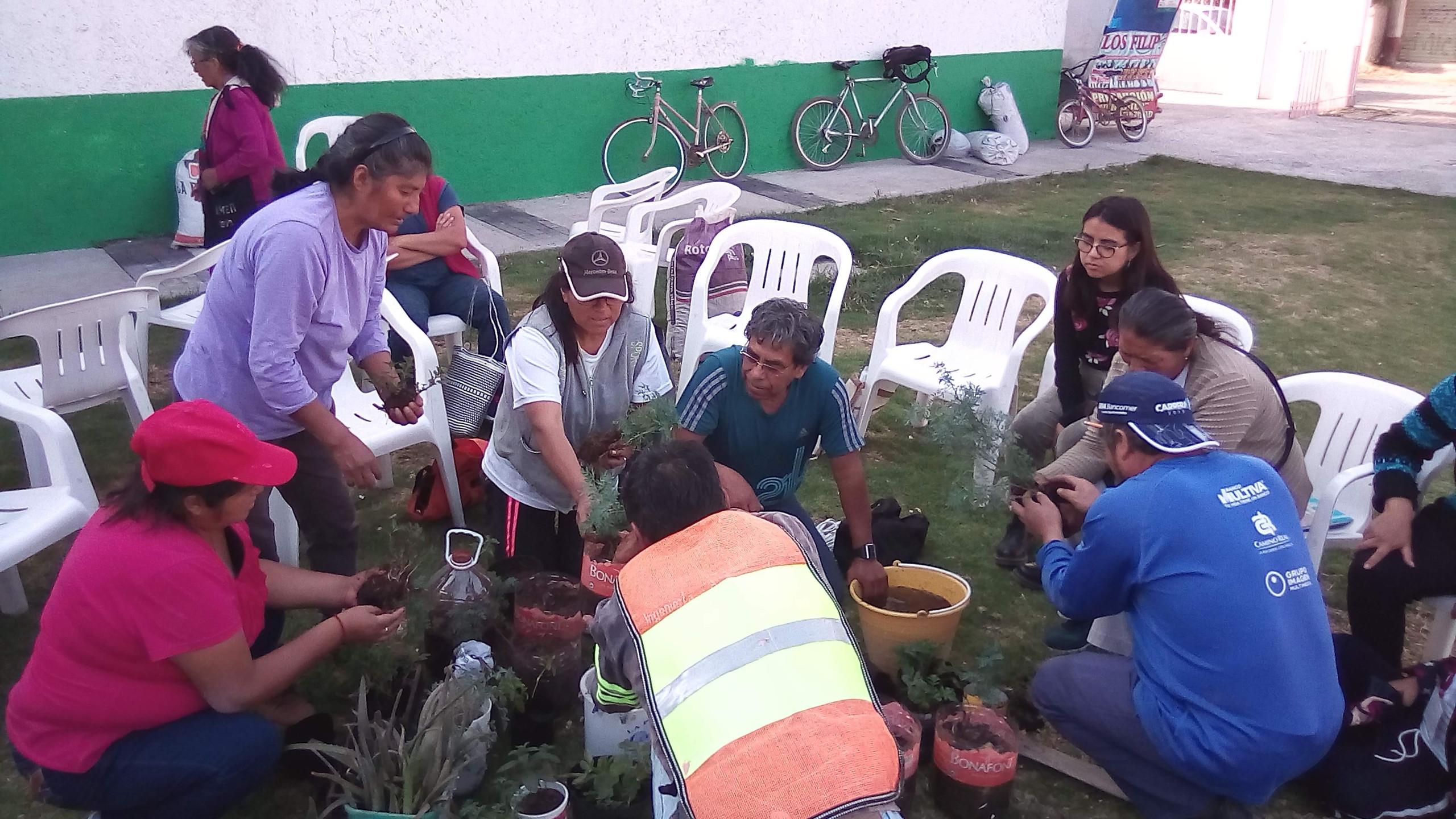 grupos de salud en Chalco