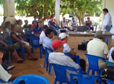 """Por el """"BUEN VIVIR"""" en 63 comunidades de Tatahuicapan, Veracruz"""