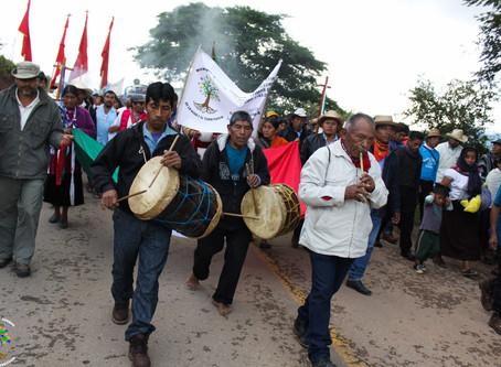Mega peregrinación en defensa de la Madre Tierra y por la vida digna de los pueblos
