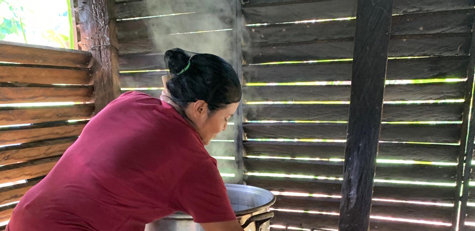 Cocinando para la comunidad
