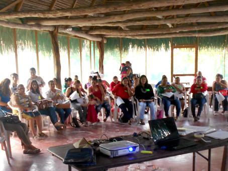 ¿Cómo se fortalecieron los Organismos Financieros Comunitarios en Plátano y Cacao durante 2017?