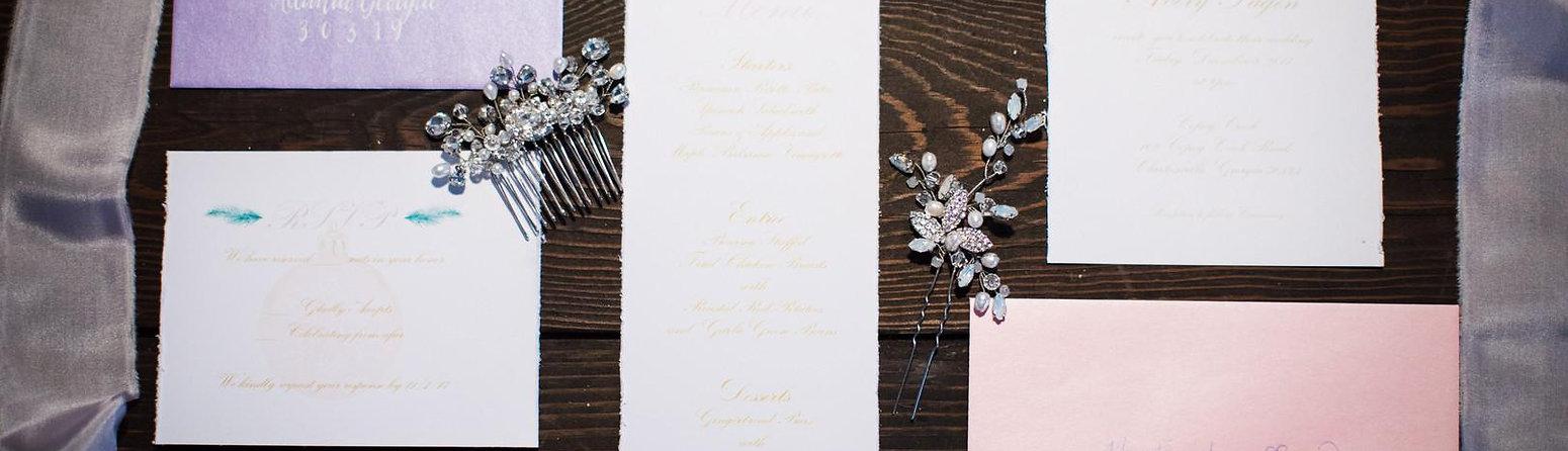 Custom Wedding Suite - Ms. Peach Plus Designs