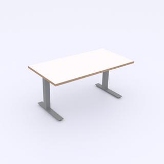 White Top | Ply Edge | Silver Base