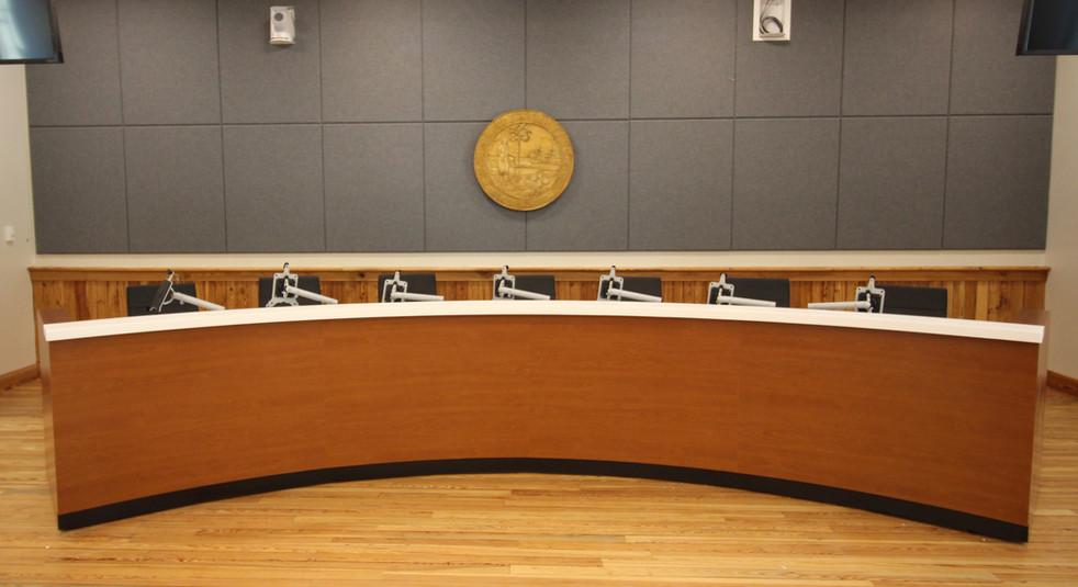 City Hall Chambers Dais Desk