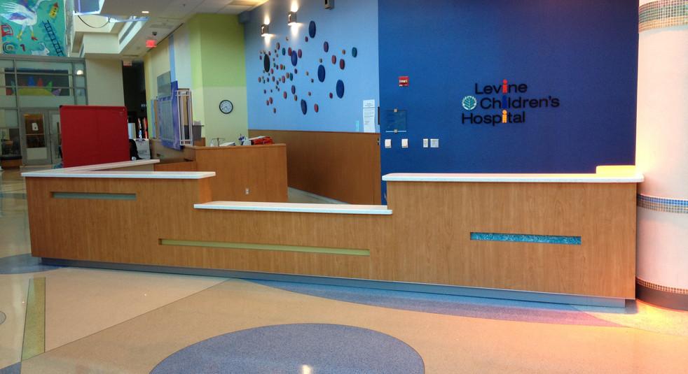 Pediatric Welcome Desk