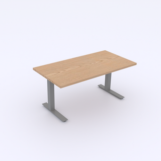 Plywood Top | Silver Base