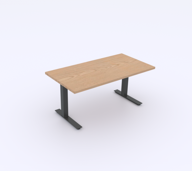 Plywood Top | Black Base