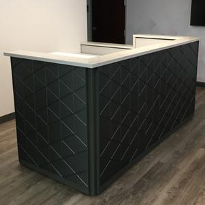 Textured Panel Desk