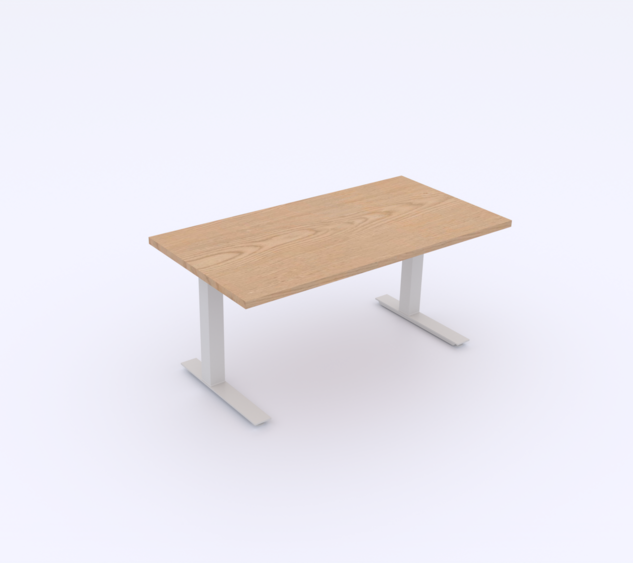Plywood Top | White Base
