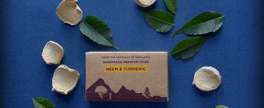Neem and Turmeric Luxury Soap