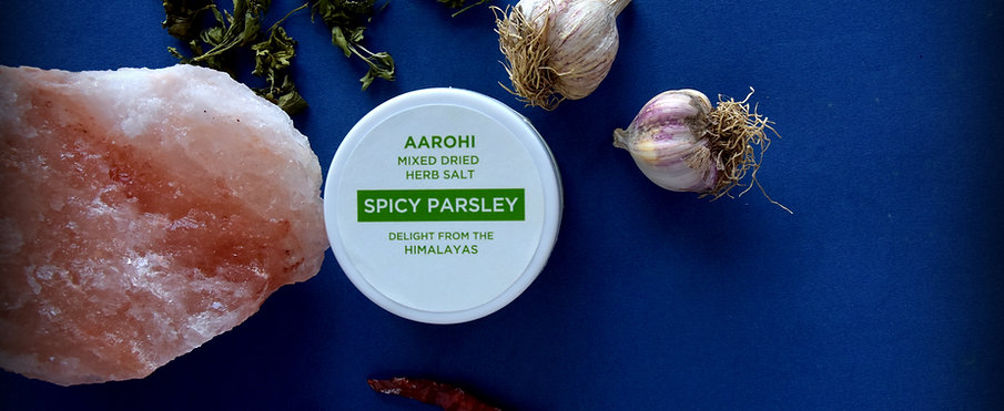 Spicy Parsley Jar