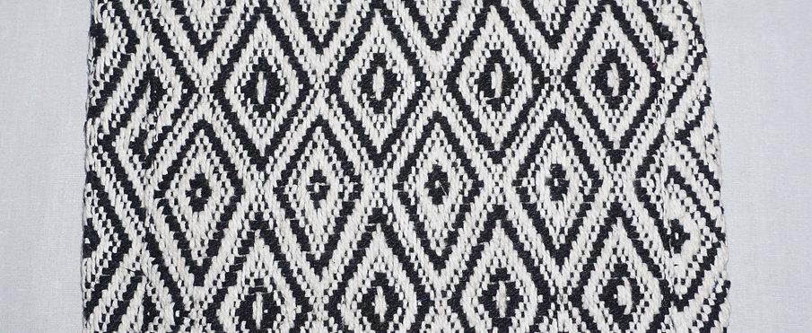 Handloom iPad Cover (Black Crystals)