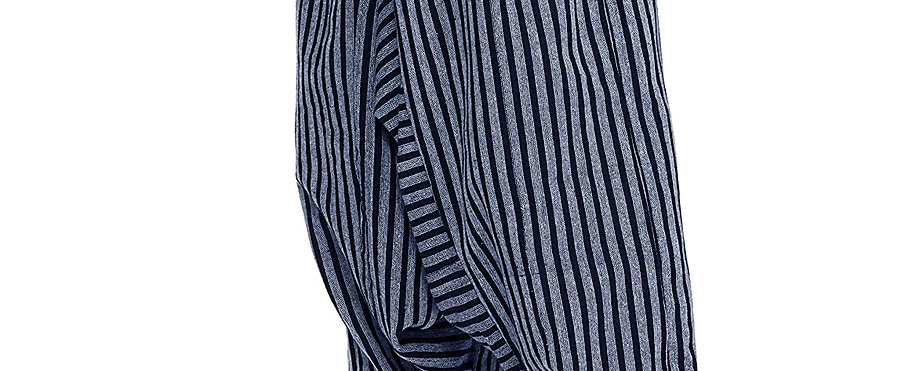 Harem Pants (Blue Stripes)