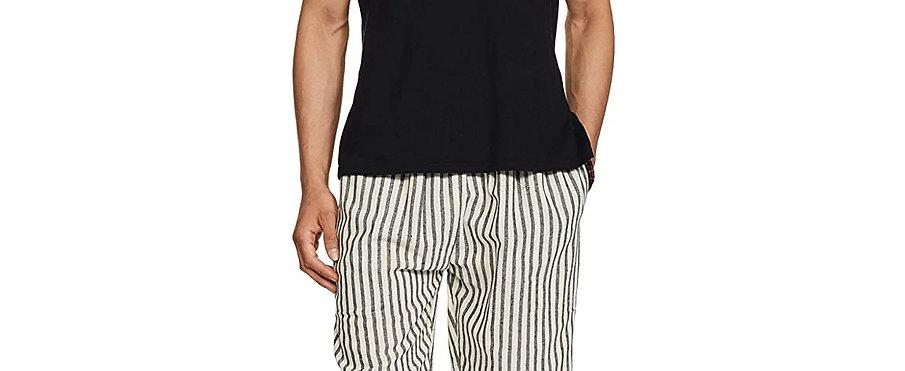 Freesize Unisex Pajamas (Cream Stripes)