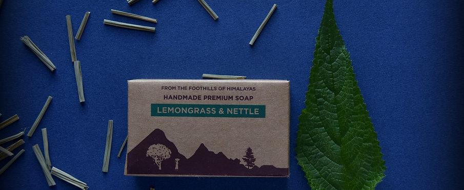 Lemongrass and Nettle Luxury Soap