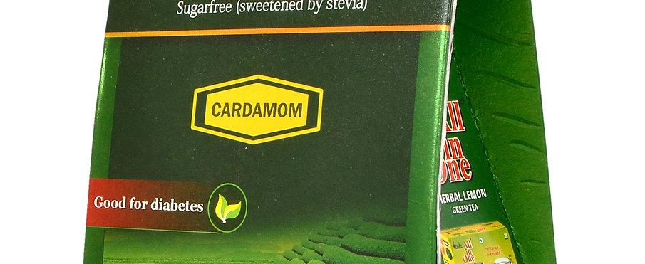 All In One Herbal Masala Tea Cardamom With Stevia - 250 Gm