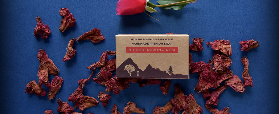 Rhododendron and Rose Luxury Soap