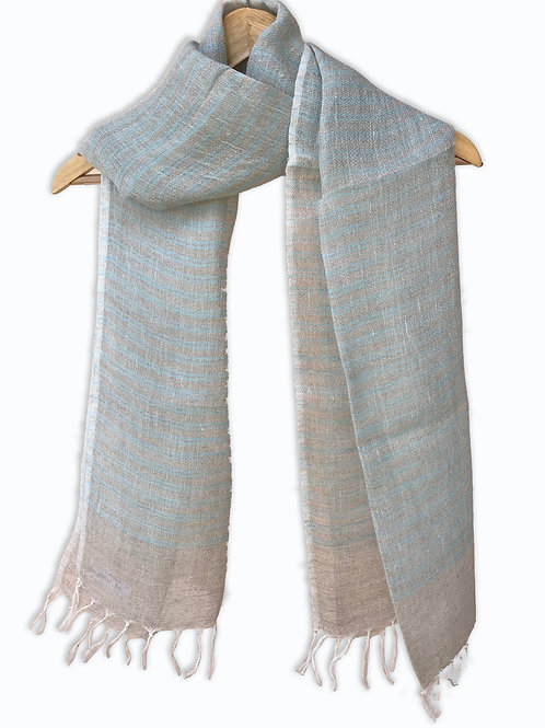 Handwoven Linen Stole (Cooling Chic)
