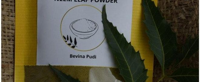 Neem Leaf Powder (Bevina Pudi)