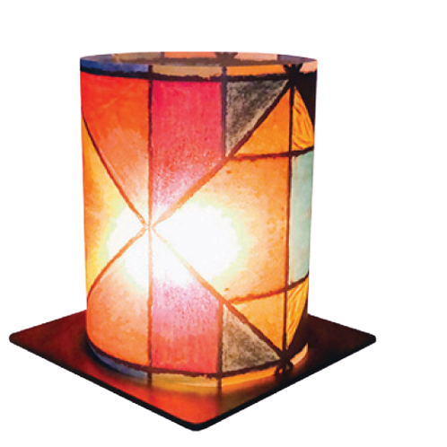 Geometric Art Tea Light Holder