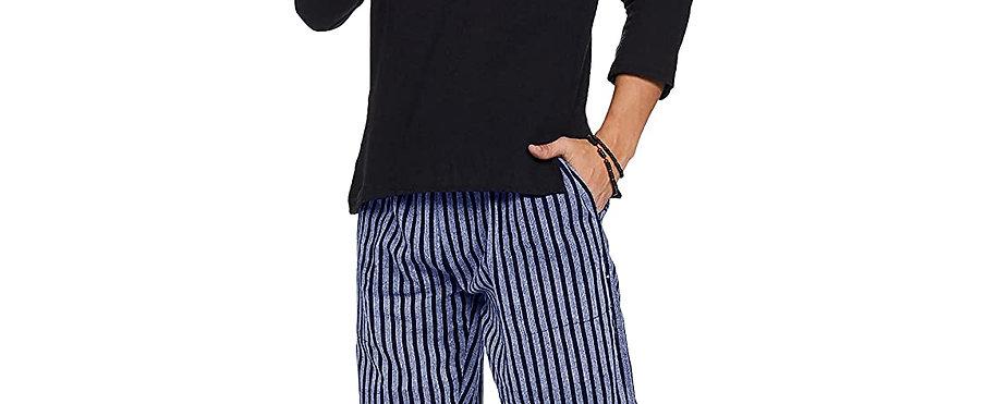 Freesize Unisex Pajamas (Blue Stripes)