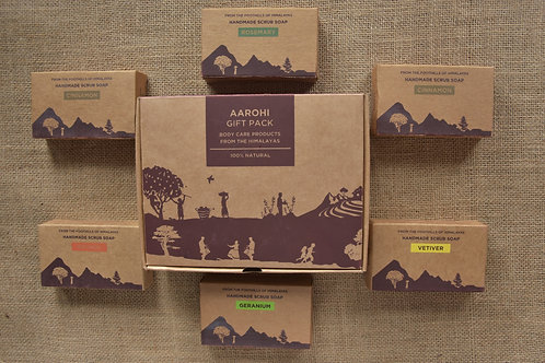 Fabulous Scrub Soaps Gift Set