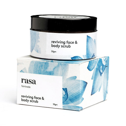 Rasa Reviving Face & Body Scrub