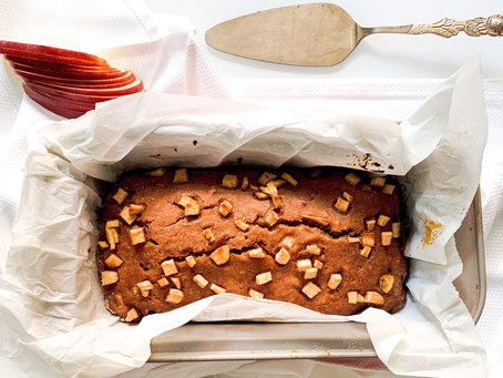 Mouth Watering Vegan Apple Cake By Nona Uppal!