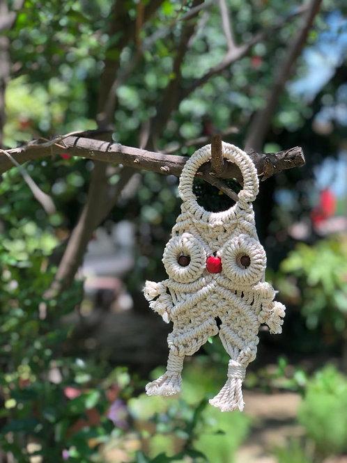 Macrame Owl Hanging